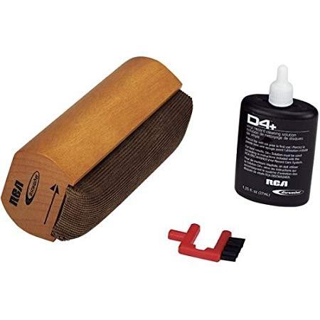RCA RD-1007 D4+ Record Cleaning Kit - Vinyl Brush - Musik - RCA - 0044476136818 - 2019
