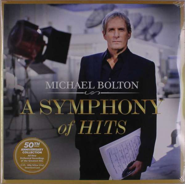 A Symphony of Hits - Michael Bolton - Musik - MONTAIGNE - 0634164615819 - 10/5-2019