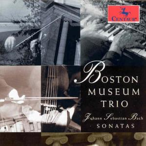 Sonatas for Violin - Bach / Boston Museum Trio - Musik - CAV - 0044747219820 - 17/3-1995