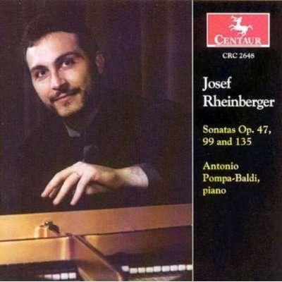 Sonatas - Rheinberger / Pompa-baldi - Musik - CENTA - 0044747264820 - 25/11-2003
