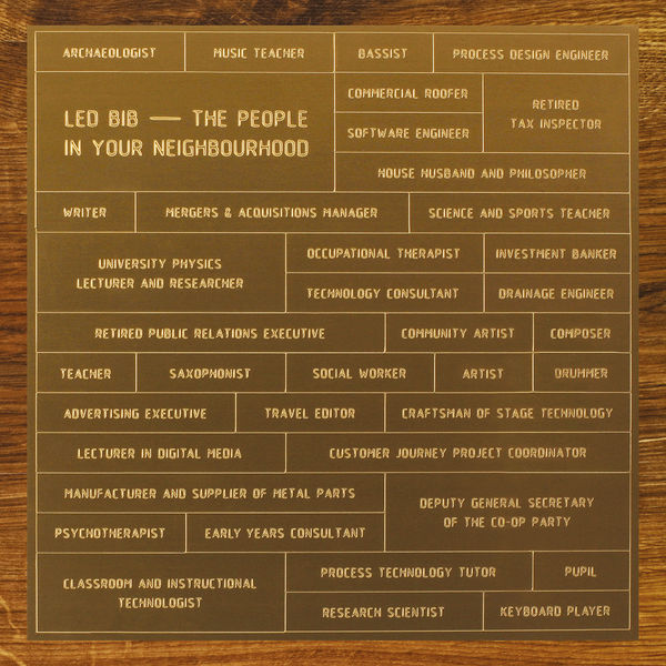 People in Your Neighbourhood - Led Bib - Musik - CUNEIFORM REC - 0045775037820 - May 13, 2014