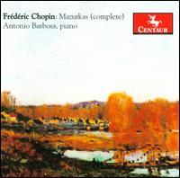 Mazurkas - Antonio Barbosa - Musik - CENTAUR - 0044747209821 - 30/4-2014