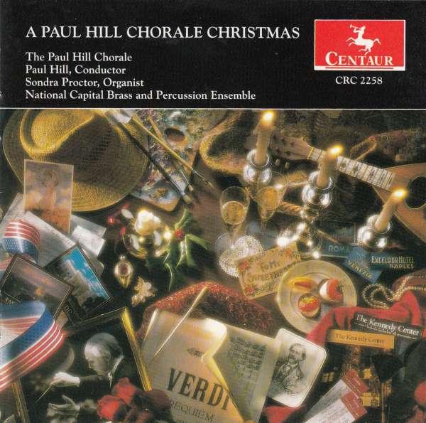 Paul Hill Chorale Christmas - Hill / Proctor / Percussion Ensemble - Musik - Centaur - 0044747225821 - 17/10-1995