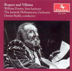 Rogues & Villains - Schicchi / Otello / Powers / Burkh - Musik - CENTAUR - 0044747238821 - 14/1-2000