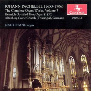 Complete Organ Works V.7 - J. Pachelbel - Musik - CENTAUR - 0044747241821 - 7/12-1999