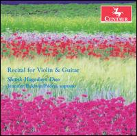 Recital for Violin & Guitar - Corelli / Turina / Piazzolla / Seiber / Peden - Musik - Centaur - 0044747283821 - 29/5-2007