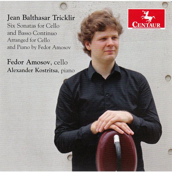 Six Sonatas for Cello & Basso Continuo - J.b. Tricklir - Musik - CENTAUR - 0044747340821 - 27/1-2016