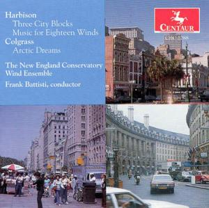 3 City Blocks / Arctic Dreams - Harbison / Colgrass / New England Conservatory - Musik - CAV - 0044747228822 - 19/11-1996