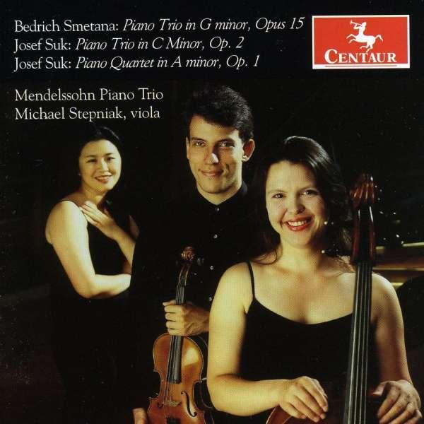 Piano Trios - Smetana / Suk / Mendelssohn Piano Trio / Stepniak - Musik - Centaur - 0044747286822 - 30/9-2008