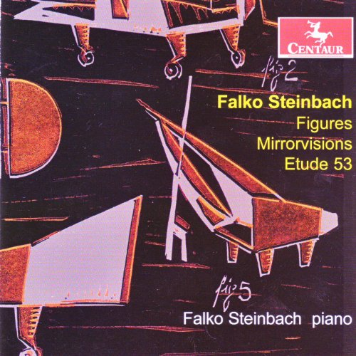 Figures: 17 Choreographic Etudes for Piano - Steinbach - Musik - Centaur - 0044747299822 - February 23, 2010