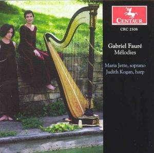 Melodies - G. Faure - Musik - CENTAUR - 0044747250823 - 1/7-2002