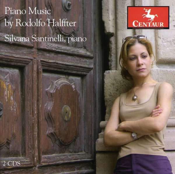 Piano Music - Halfter / Santinelli - Musik - Centaur - 0044747292823 - 29/7-2008