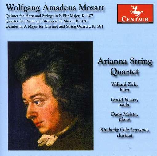 Quintets & Quartet - Arianna String Quartet - Musik - CENTAUR - 0044747304823 - March 21, 2012