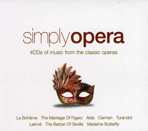 Simply Opera - V/A - Musik - USM - 0698458290823 - 9/8-2012