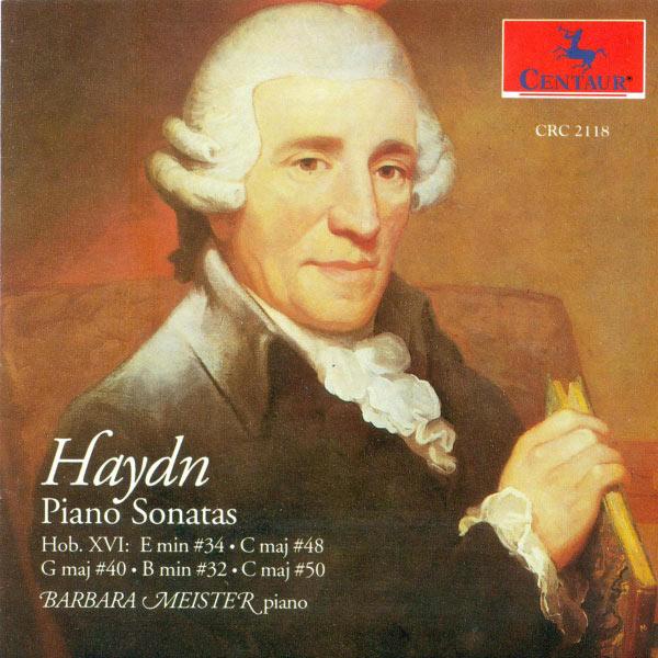 Haydn Sonatas Hob Xvi: 34 48 40 32 5 - Meister Barbara - Musik - CENTAUR - 0044747211824 - 30/4-2014