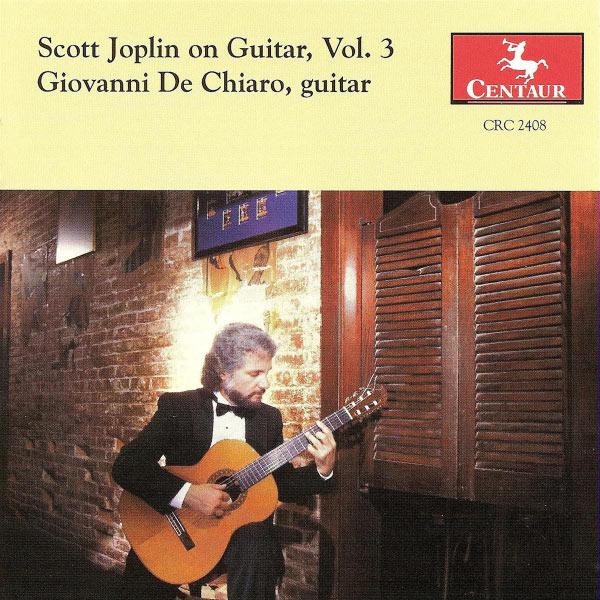 Scott Joplin on Guitar #3 - Joplin,scott / De Chiaro,giovanni - Musik - CENTAUR - 0044747240824 - 14/1-2000