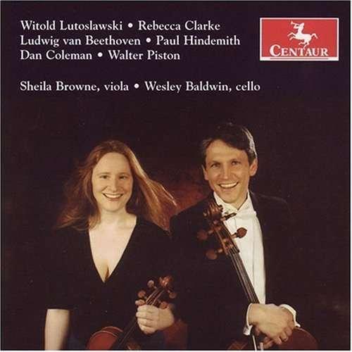 Bucolics for Viola & Cello - Lutoslawski / Clarke / Hindemith / Browne - Musik - CENTAUR - 0044747279824 - November 28, 2006