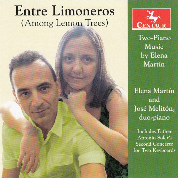 Entre Limoneros - Elena Martin - Musik - CENTAUR - 0044747342825 - January 6, 2016