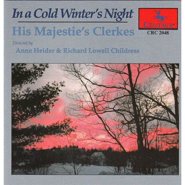 In a Cold Winter's Night: Christmas Choral Music - His Majestie's Clerkes - Musik -  - 0044747204826 - 1/9-1993