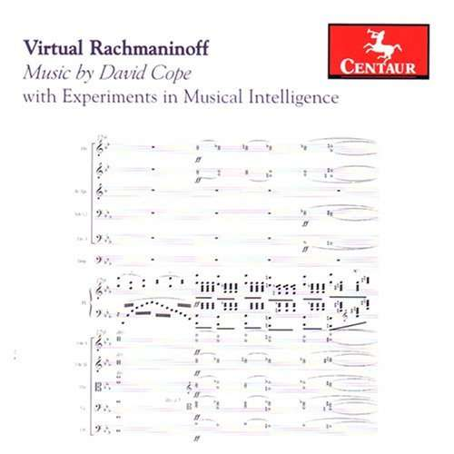 With Experiments in Musical Intelligence - Rachmaninoff / Cope,david / Harris / Marshall - Musik - CENTAUR - 0044747288826 - 25/11-2008
