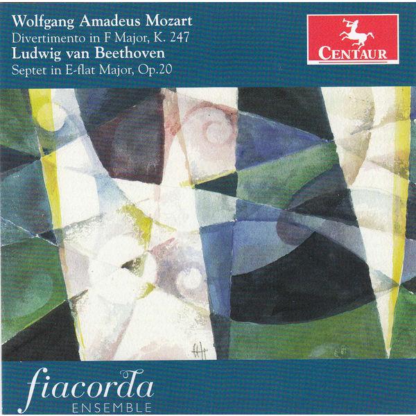 Divertimento in F Major K247 - Beethoven / Mozart - Musik - CENTAUR - 0044747332826 - 8/5-2014