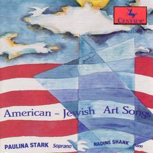 American-jewish Art Songs - Weiner / Stark / Shank - Musik - CENTAUR - 0044747210827 - 1/9-1993