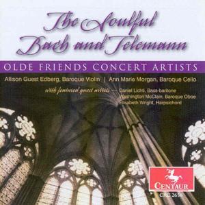 Soulful Bach and Telemann - V/A - Musik - CENTAUR - 0044747265827 - 6/2-2004