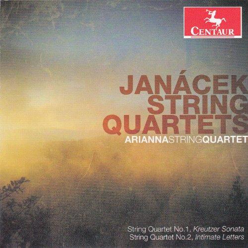 Streichquartette - L. Janacek - Musik - CENTAUR - 0044747319827 - June 12, 2013