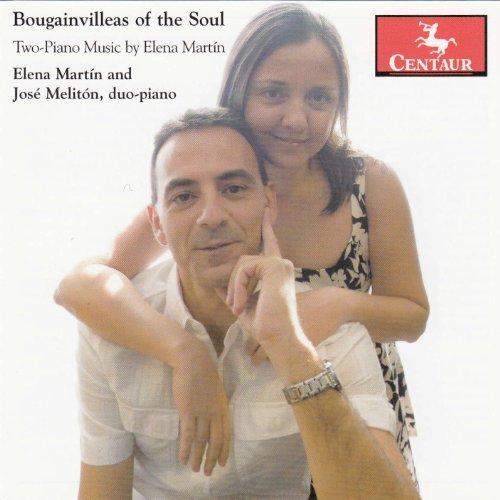 Bougainvilleas of the Soul - Martin, Elena / Jose Meliton - Musik - CENTAUR - 0044747322827 - October 15, 2012
