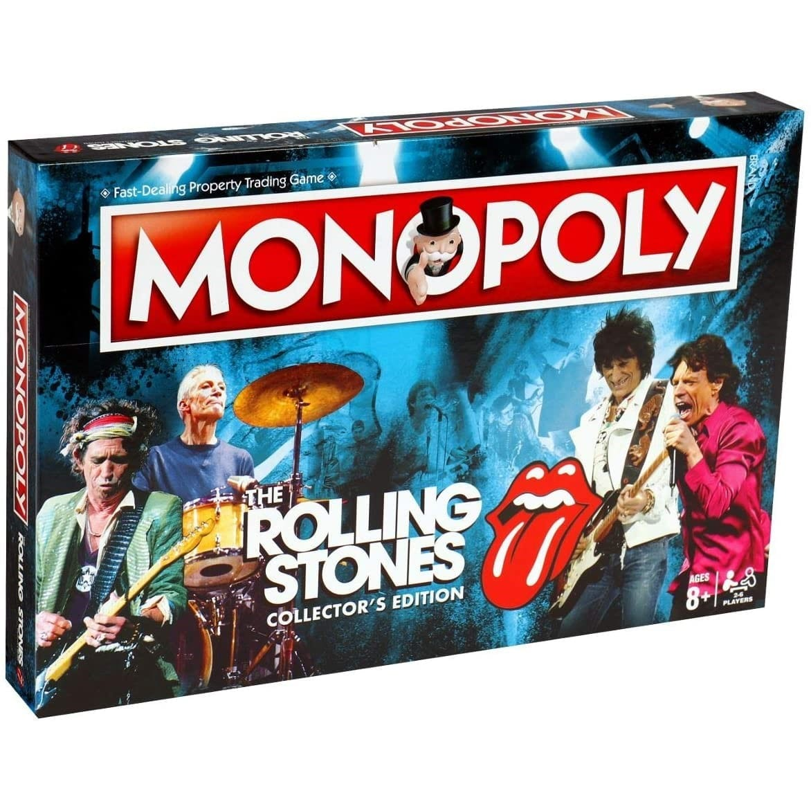 Monopoly Collectors Edition - The Rolling Stones - Brætspil - HASBRO GAMING - 5036905032827 - July 4, 2018