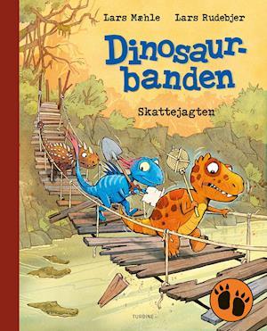 Dinosaurbanden - Skattejagten - Lars Mæhle - Bøger - Turbine - 9788740671827 - June 11, 2021