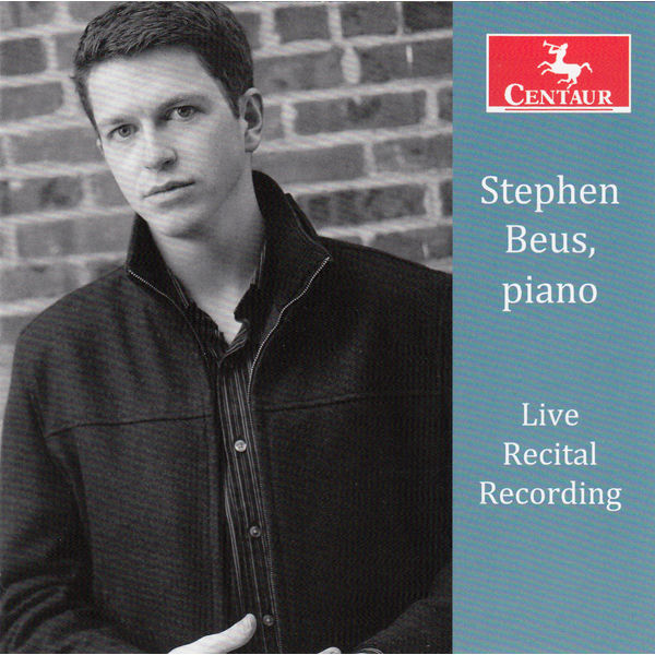 Stephen Beus-live Recital Recording - Bach / Mendelssohn / Liszt - Musik - Centaur - 0044747338828 - 11/11-2014