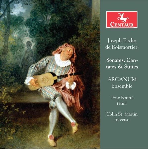 Sonates, Cantates & Suites - J.b. De Boismortier - Musik - CENTAUR - 0044747354828 - 7/9-2018