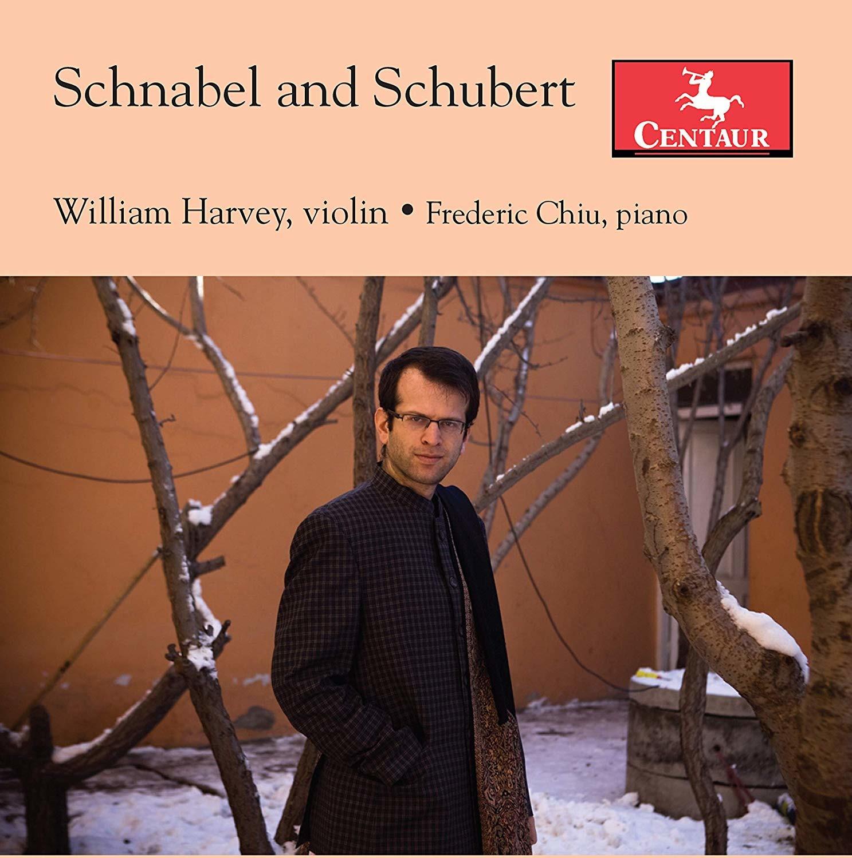 Schnabel and Schubert - William Harvey - Musik - CENTAUR - 0044747367828 - 13/9-2019