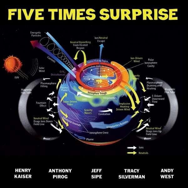 Five Times Surprise - Henry Kaiser - Musik - CUNEIFORM REC - 0045775044828 - May 10, 2019