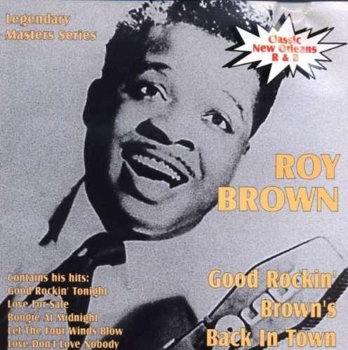 Good Rockin' Brown is Back in Town - Roy Brown - Musik - AIM - 0752211000828 - December 27, 2013