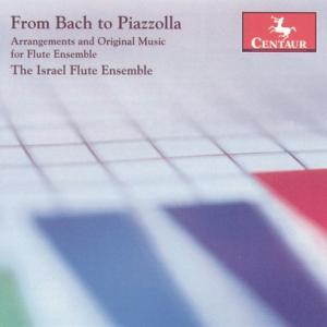 Arrangements & Original Music for Flute Ensemble - Piazzolla / Bach / Gluck / Mascagni / Albeniz - Musik - Centaur - 0044747274829 - 30/5-2006
