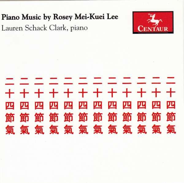 Piano Music - Lee,rosey Mei-kuei / Clark,lauren Schack - Musik - Centaur - 0044747290829 - 27/5-2008