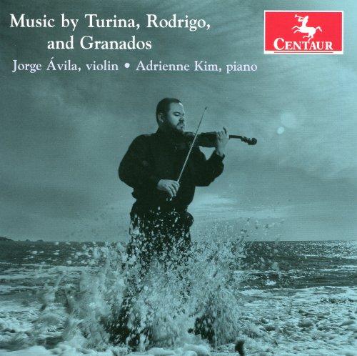Music by Turina, Rodrigo and Granados - Jorge Avila - Musik - CENTAUR - 0044747315829 - December 19, 2012