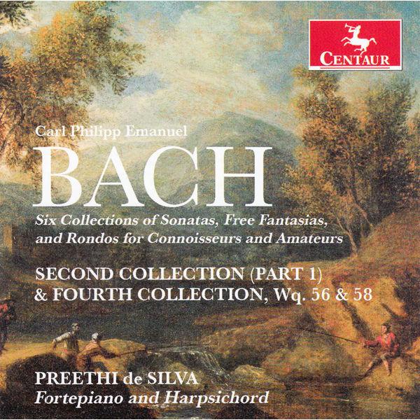 Six Collections of Sonatas - Preethi De Silva - Musik - CENTAUR - 0044747328829 - 4/6-2014