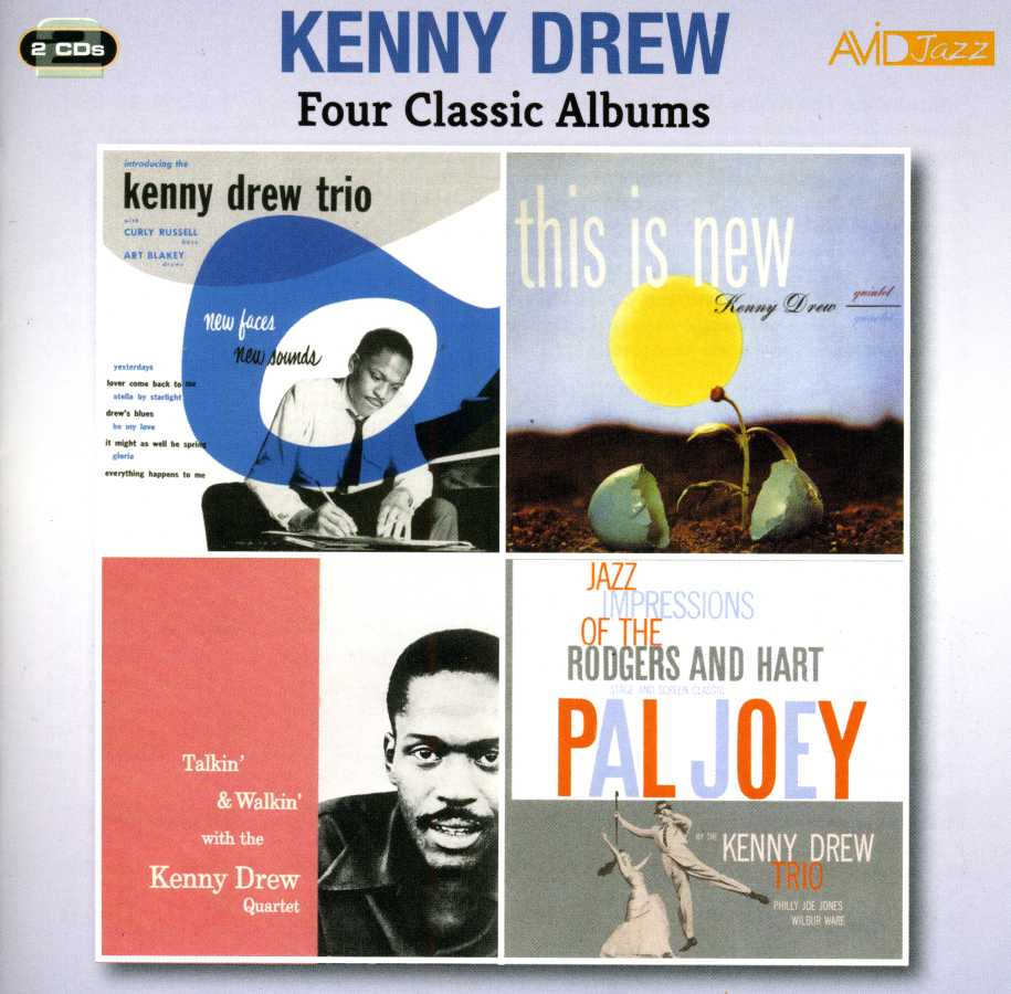 Four Classic Albums - Kenny Drew - Musik - AVID JAZZ - 5022810308829 - March 25, 2015