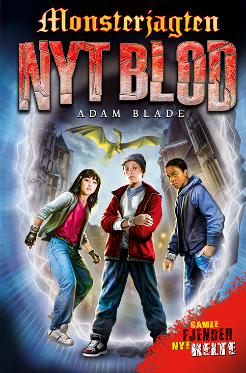 Monsterjagten - nyt blod: Monsterjagten - nyt blod (1) - Adam Blade - Bøger - Flachs - 9788762733831 - February 18, 2021