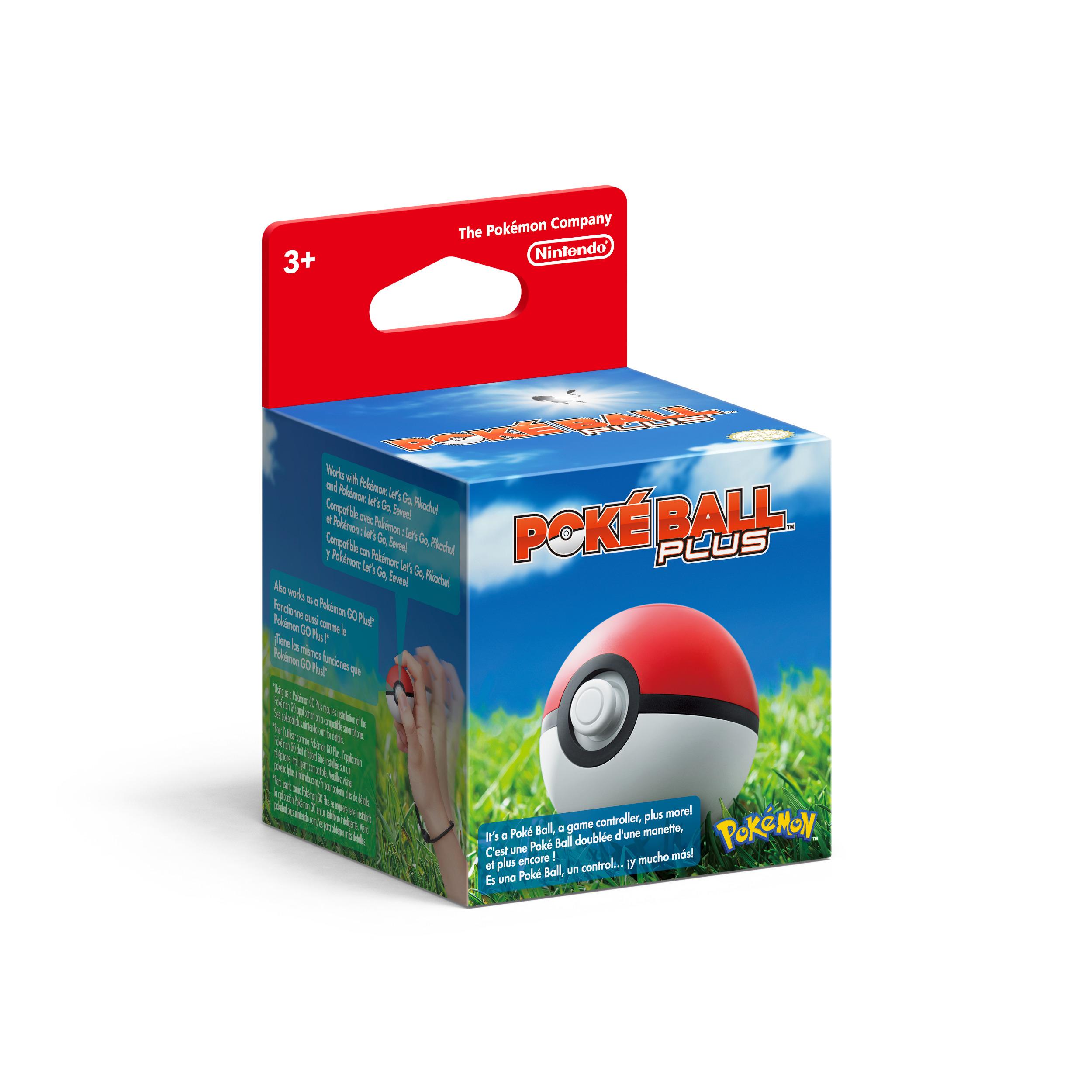 Pokéball Plus.Switch.2513066 - Switch - Bøger -  - 0045496430832 - 16/11-2018