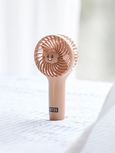 SHOOKY CHARACTER MINI HANDY FAN - BT21 - Merchandise -  - 8809640775833 - 1/7-2020