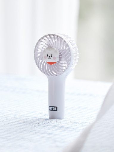 RJ CHARACTER MINI HANDY FAN - BT21 - Merchandise -  - 8809640775840 - 1/7-2020