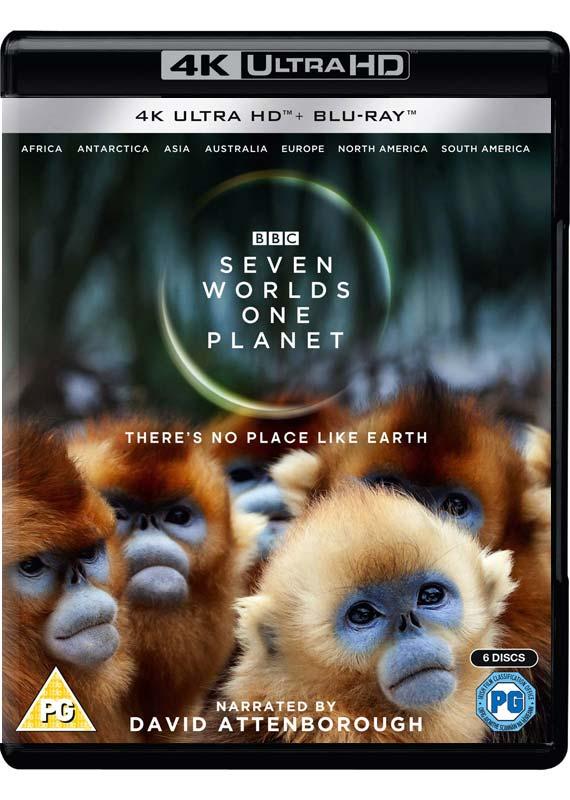 Seven Worlds One Planet - Seven Worlds One Planet (4k Bl - Film - BBC WORLDWIDE - 5051561004841 - November 25, 2019