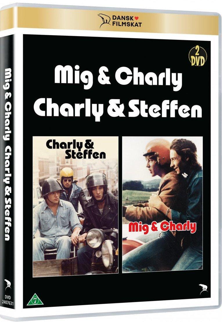 Mig Og Charly / Charly Og Steffen -  - Film - Nordisk Film - 5708758725842 - April 8, 2021