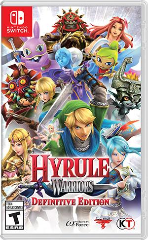 Hyrule Warriors,Switch.2523140 -  - Bøger -  - 0045496421847 -