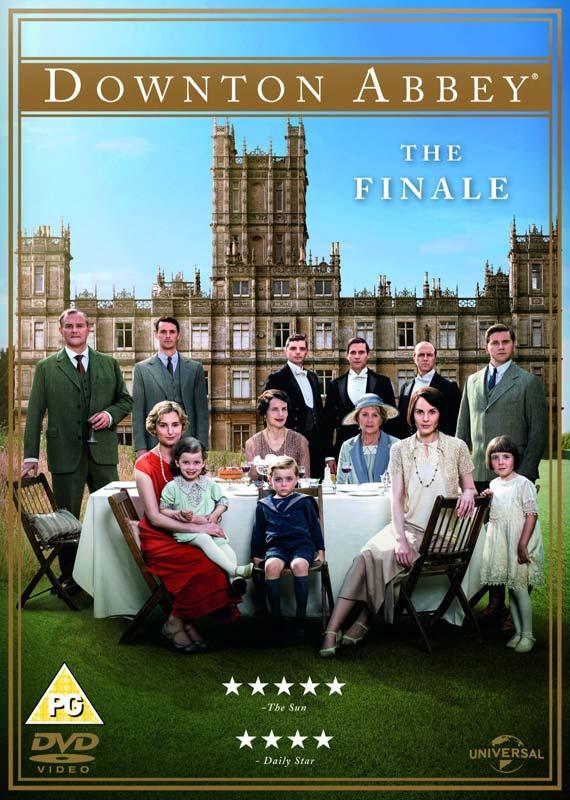 Downton Abbey  The Finale - Downton Abbey - Film - PLAYBACK - 5053083057862 - December 26, 2015