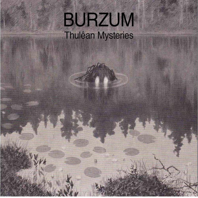 Thulean Mysteries - Burzum - Musik - BACK ON BLACK - 0803343226874 - 13/3-2020